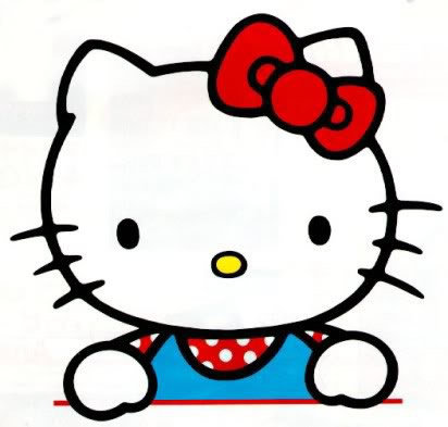 Hello Kitty in de Les