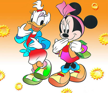 Retro Minnie En Katrien