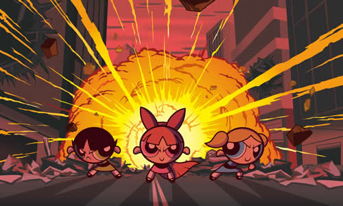 Powerpuff Girls plaatje 9