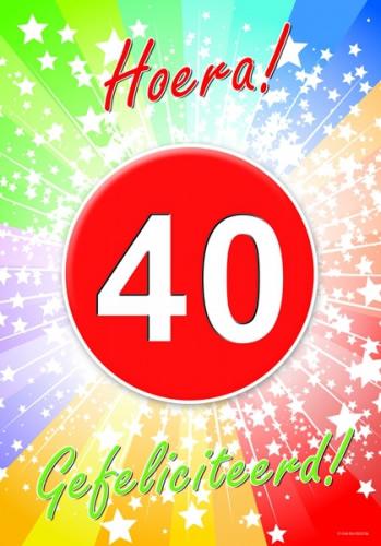 felicitatie 40 jaar verjaardag