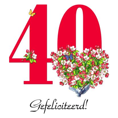 40 Gefeliciteerd!