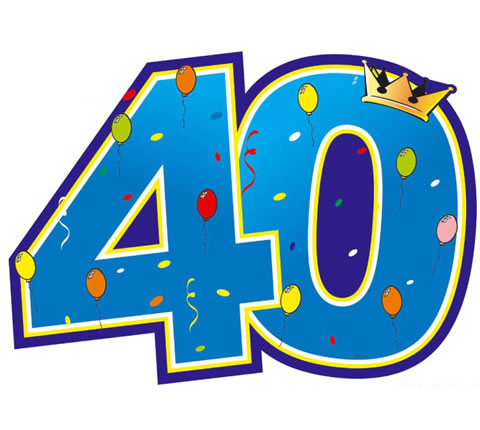 krabbelplaatjes 40 jaar 8 40 Jaar Plaatjes en Gifs voor Facebook   BesteKrabbels.nl krabbelplaatjes 40 jaar