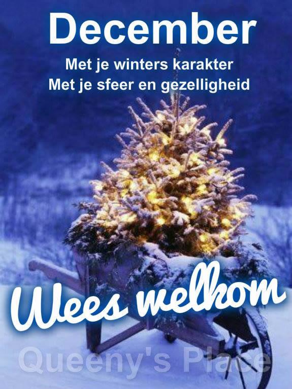 December Met je winters karakter Met je...