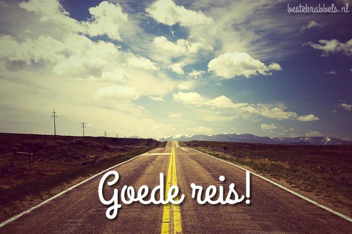Goede reis! Plaatjes