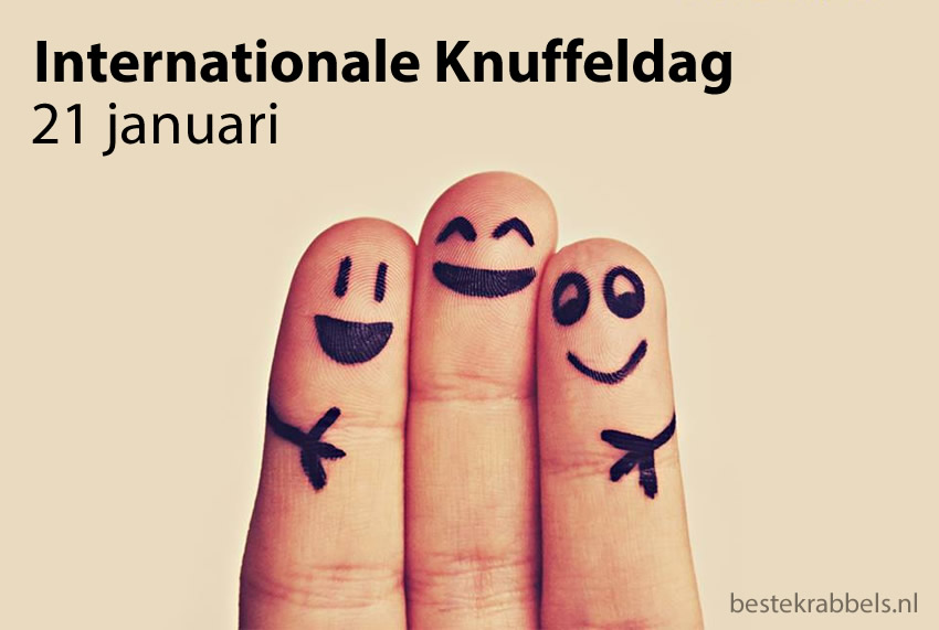 Internationale Knuffeldag 21 januari