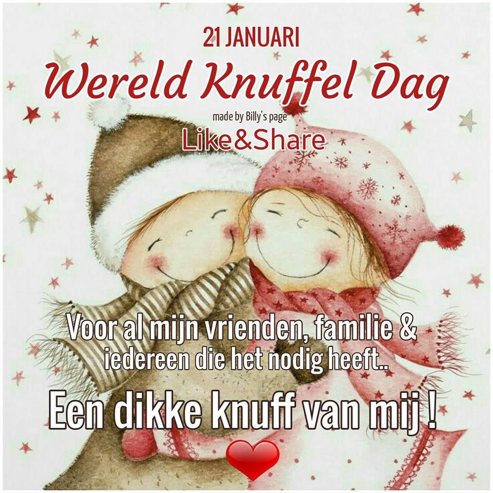 Internationale Knuffeldag plaatje 1