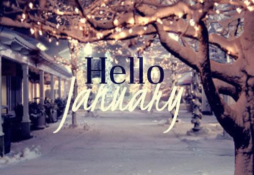 Hello January