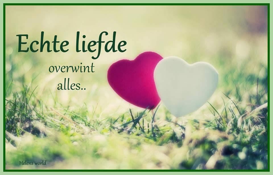 Echte liefde overwint alles... Plaatjes