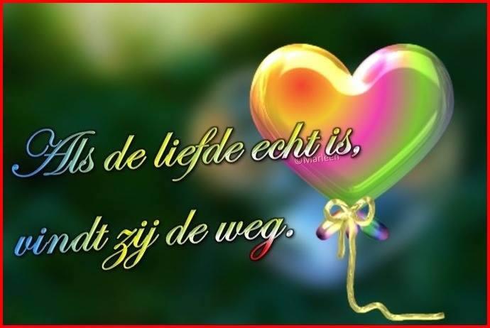 Als de liefde echt is, vindt...