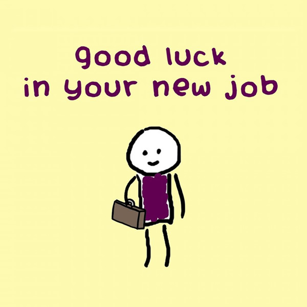 Good luck in your new job Plaatjes