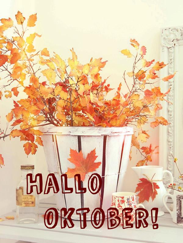 Hallo Oktober!