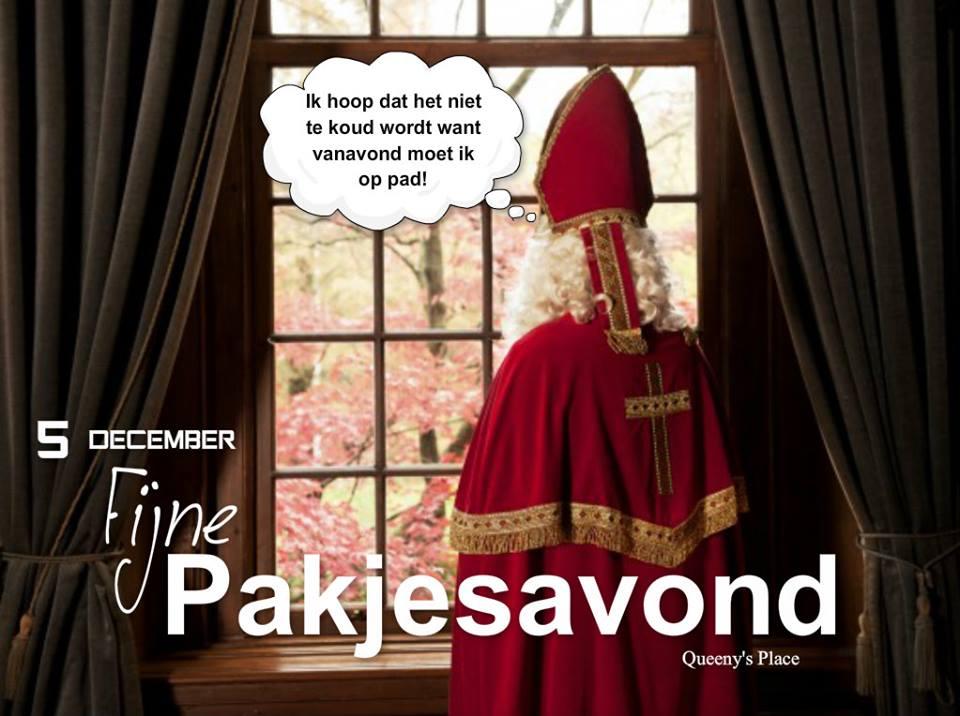 5 December, Fijne Pakjesavond...