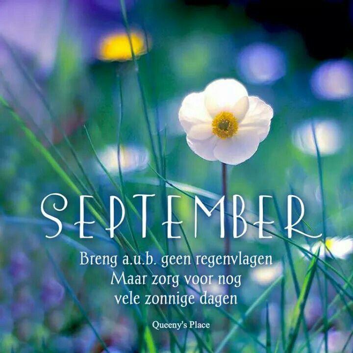 September Breng a.u.b. geen...