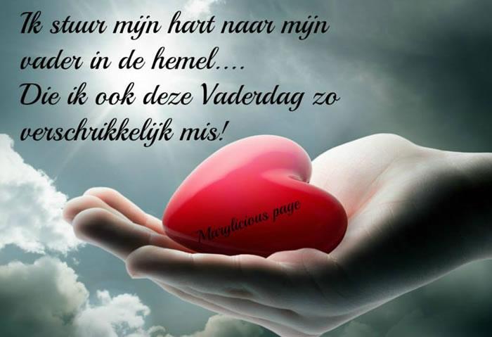 Ik stuur mijn hart naar mijn...