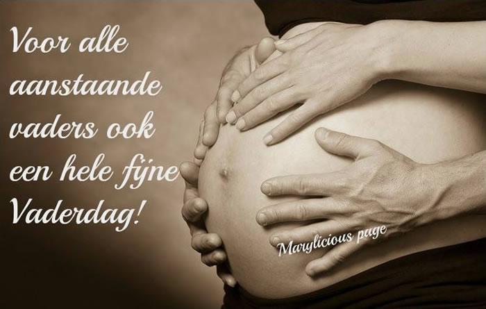Voor alle aanstaande vaders ook een hele fijne Vaderdag!
