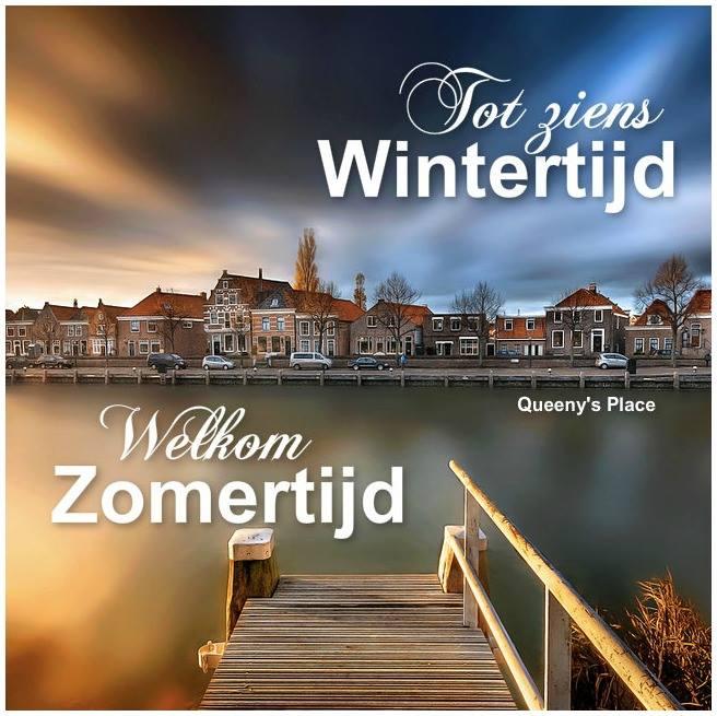 Tot ziens Wintertijd, Welkom...